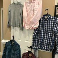 Photo Boys Abercrombie and hollister button down shirts - $20 (CLEMMONS)
