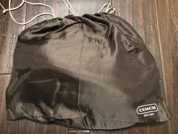 Photo COACH white pebbled leather hobo handbag - $150 (Advance)