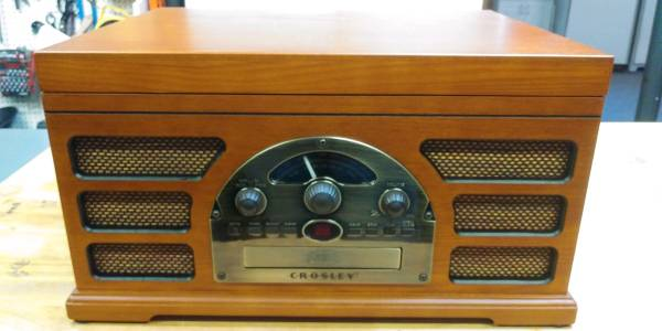 Photo Crosley 5-in-1 Rochester CR 66 Player - $50 (Kernersville)