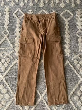 Photo Duluth Trading Post fire hose pants - $25 (Mocksville)