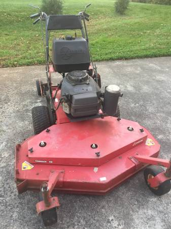 Photo Exmark commercial mower - $750 (Clemmons)