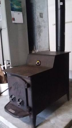 Fisher Papa Bear Wood Stove 825 Mt Airy General Items Winston Salem Nc Shoppok