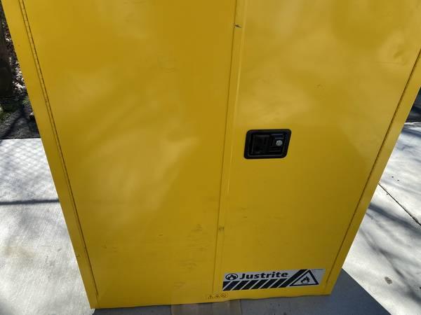 Photo Justrite 894500 45 Gallon Flammable Safety Cabinet - $650 (Winston Salem)