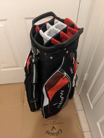 Photo NICE Nearly New 15 hole $250 MaxFli Tour Golf Cart Bag - $100 (Clemmons)