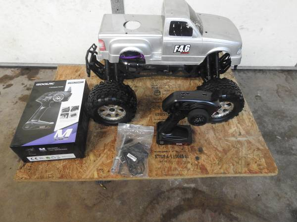Photo Open to offers,RC-Hpi Savage x-4.6.a lot of upgrades - $550 (Winston-Salem)