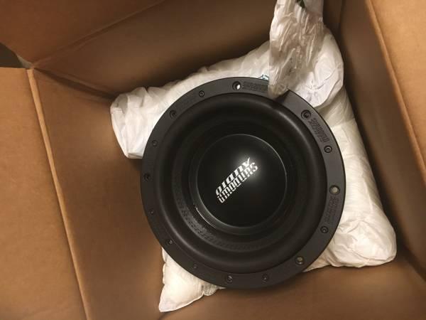 Photo Sundown Audio U-10 D2 1500W rms Subwoofer - $320 (Clemmons)