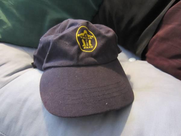 Photo Wayne39s Cycle Shop Adjustable Hat Cap Vintage Blue - $15 (Winston-Salem)