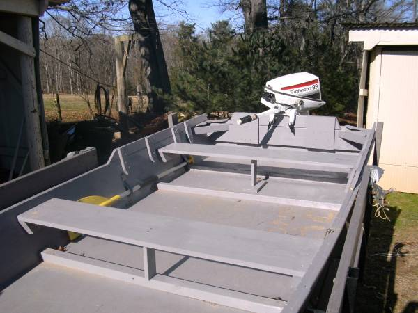 Photo boat and motor for sale - $600 (Ronda, NC)