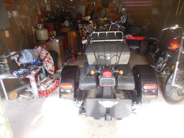 Photo voyager trike kit saleobo - $1,200 (kernersville)