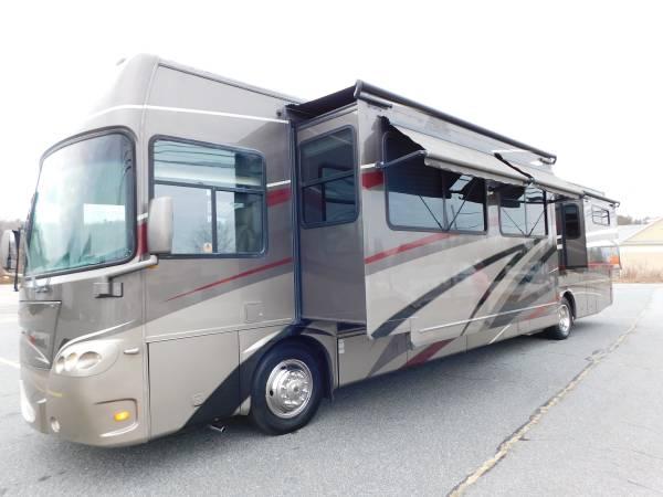Photo 08 Tour Master Trio 42396quot 3 Slides 8000 Watt Cat Diesel Gen Mercedes - $58,500 (West Boylston)