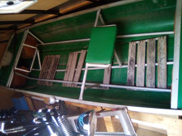 Photo 12 ft flat bottom boat motor - $300 (Worcester)