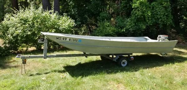 Photo 1439 Aluminum, All Welded Sears Jon Boat - $2,650 (Smithfield, RI)