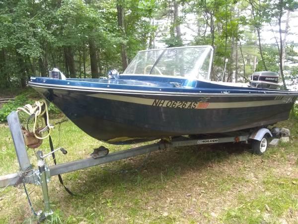 1963 Lonestar Salem 14ft Ski Boat - $1,500 (Ashburnham)