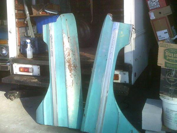 Photo 1964 Ford Galaxie 500 Front Fenders, solid, no dents, original paint - $1,200 (Gardner)