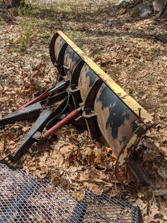 Photo 1967-1972 Fisher plow set up Chevy or GMC - $500 (Cherry Valley, MA)