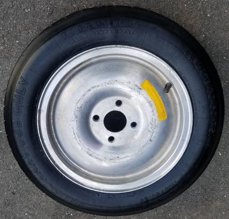 Photo 1979-1993 Ford Mustang Cobra 15 inch Aluminum Spare Tire Wheel - $100 (Leominster)