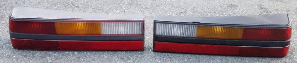 Photo 1985-1993 Ford Fox Body Mustang LX GT Tail Lights Pair - $175 (Leominster)