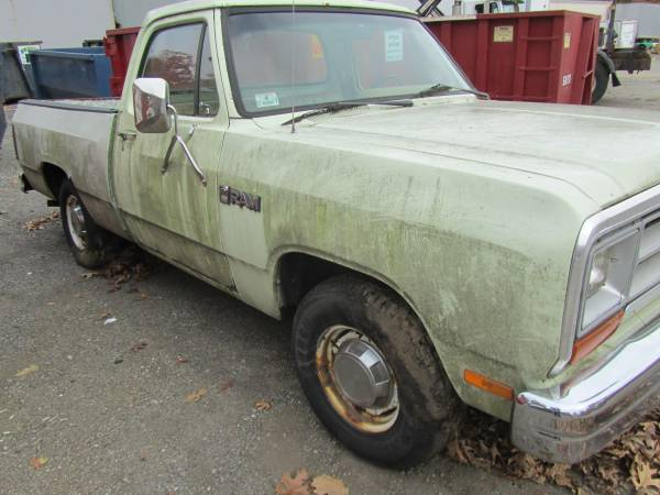 Photo 1987 ram 150 shortbed 2wd - $950 (ayer)