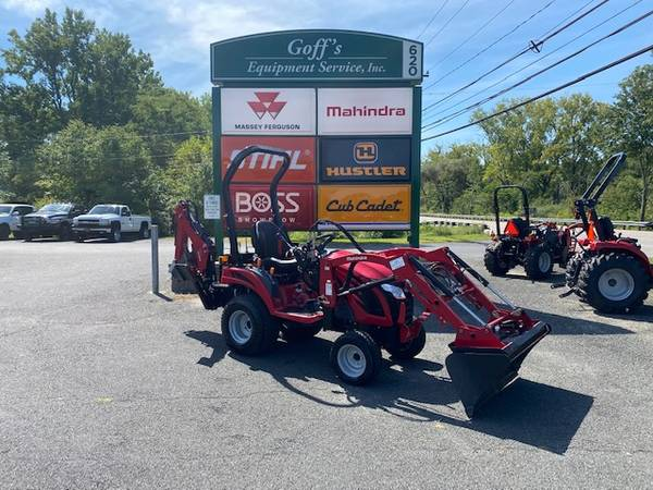 Photo 2019 Mahindra Emax 20S Tractor w Loader and Backhoe - $15,990 (Litchfield)