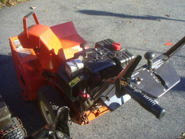 Photo Ariens Snow Blower Package Deal - $500 (Milford Ma.)