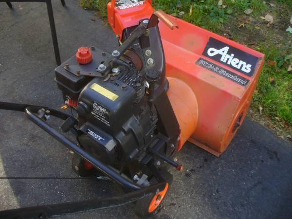 Photo Ariens snow blower ( parts - $75 (Milford Ma.)