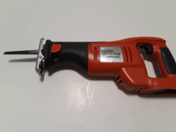 Photo BLACK AND DECKER FIRESTORM RECIPROCATING SAW, NO BATTERY, FS1800RS - $25 (FITCHBURG)