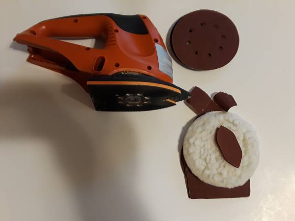 Photo BLACK AND DECKER FIRESTORM SANDING TOOL, 18V, FS1802S, TOOL ONLY - $20 (FITCHBURG)