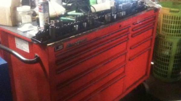Photo Blue Point Snap On KRB 2011 tool box - $1500 (ma)