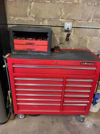 Photo Complete Tool Box Snap On Blue Point Mac Craftsman - $2500 (Worcester)