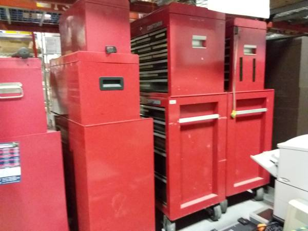 Photo Craftsman tool boxes - $600 (Walpole)