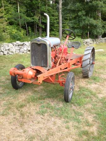 Photo FOR SALE 1930 Model A Ford Conversion Tractor