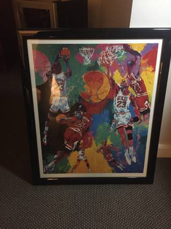 Photo Framed Michael Jordan Pop-Art Piece - $15 (Shrewsbury)