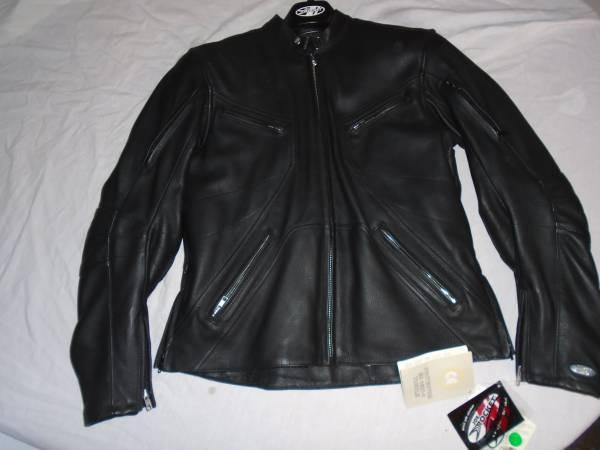 Photo New Womens Joe Rocket Leather Jacket andTeknic Gloves - $90 (webster)