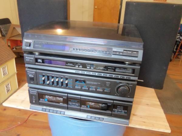 Photo Panasonic Stereo System - $10 (Bolton, MA)
