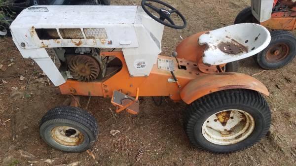 Photo Sears garden tractors - $400 (Warwick)