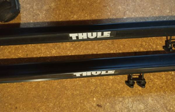 Photo Thule Roof System - $50 (Princeton)