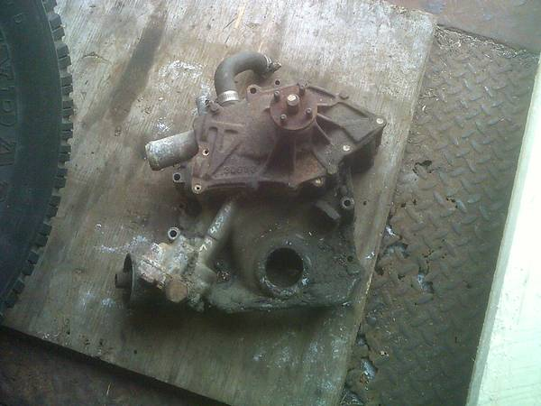Photo Used 455 Buick Timing Cover - $120 (Gardner)
