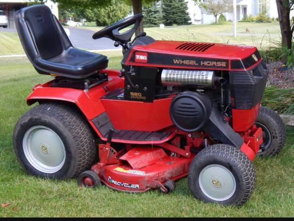 Photo Wheel Horse 520-H - $4,500 (Brookfield)