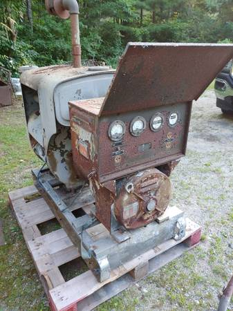 Photo Wisconsin V4 air cooled engine motor generator military - $299