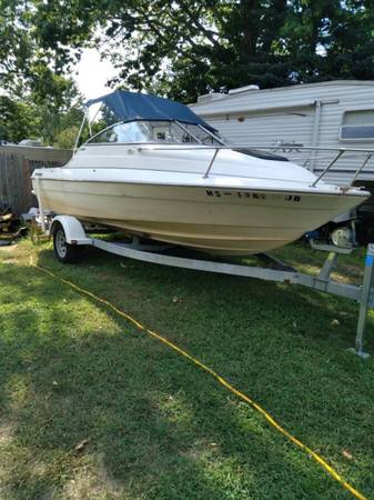 Photo looking to TRADE my Boat for a Trailer Trailer - $8,500 (Whitinsville)