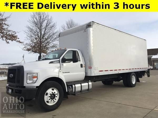Photo 2017 Ford F-650SD Box Truck Powerstroke DIESEL Cln Carfax We Finance - $50,000