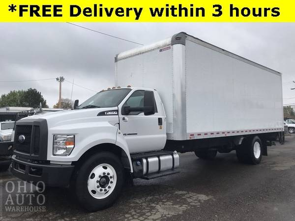 Photo 2017 Ford F-650SD Box Truck Powerstroke DIESEL Liftgate We Finance - $50,000 (_Ford_ _F-650SD_ _Truck_)