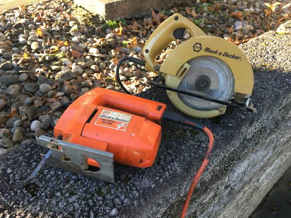 Photo Black  Decker Power Saws - $50 (St. Clairsville)