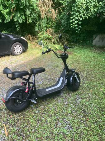 Photo Fat City - Electric Fat Tire Scooter Moped - $1,300 (Morgantown)
