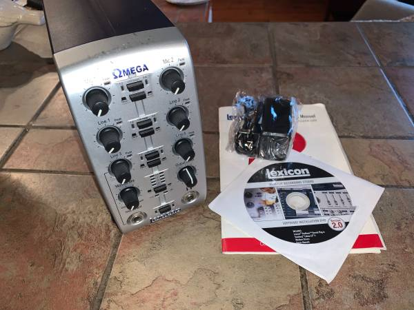 Photo Lexicon Omega Desktop Recording Studio Version 2.0 - $60 (FAIRMONT)