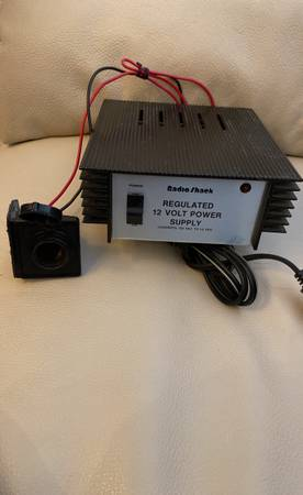 Photo Radio Shack 12V Regulated Power Supply - $29 (Morgantown)