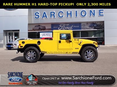 Photo Used 2000 HUMMER H1 2-Door Hard Top for sale