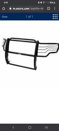 Photo Westin 2009-2014 Ford F-150 Sportsman Grille Guard - Black new in box - $180 (Uniontown pa)