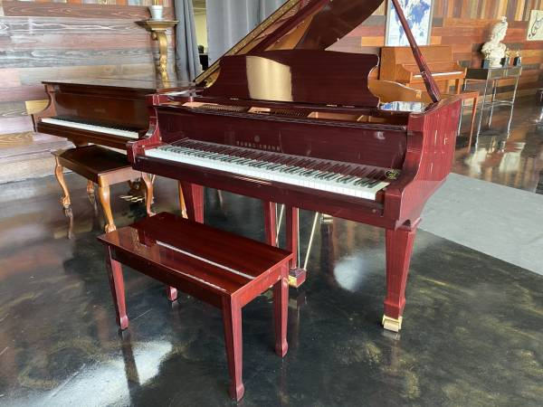 Photo Young Chang PRAMBERGER BABY GRAND PIANO in AS NEW CONDITION FREE DEL - $5,750 (Atlanta  Free Delivery)