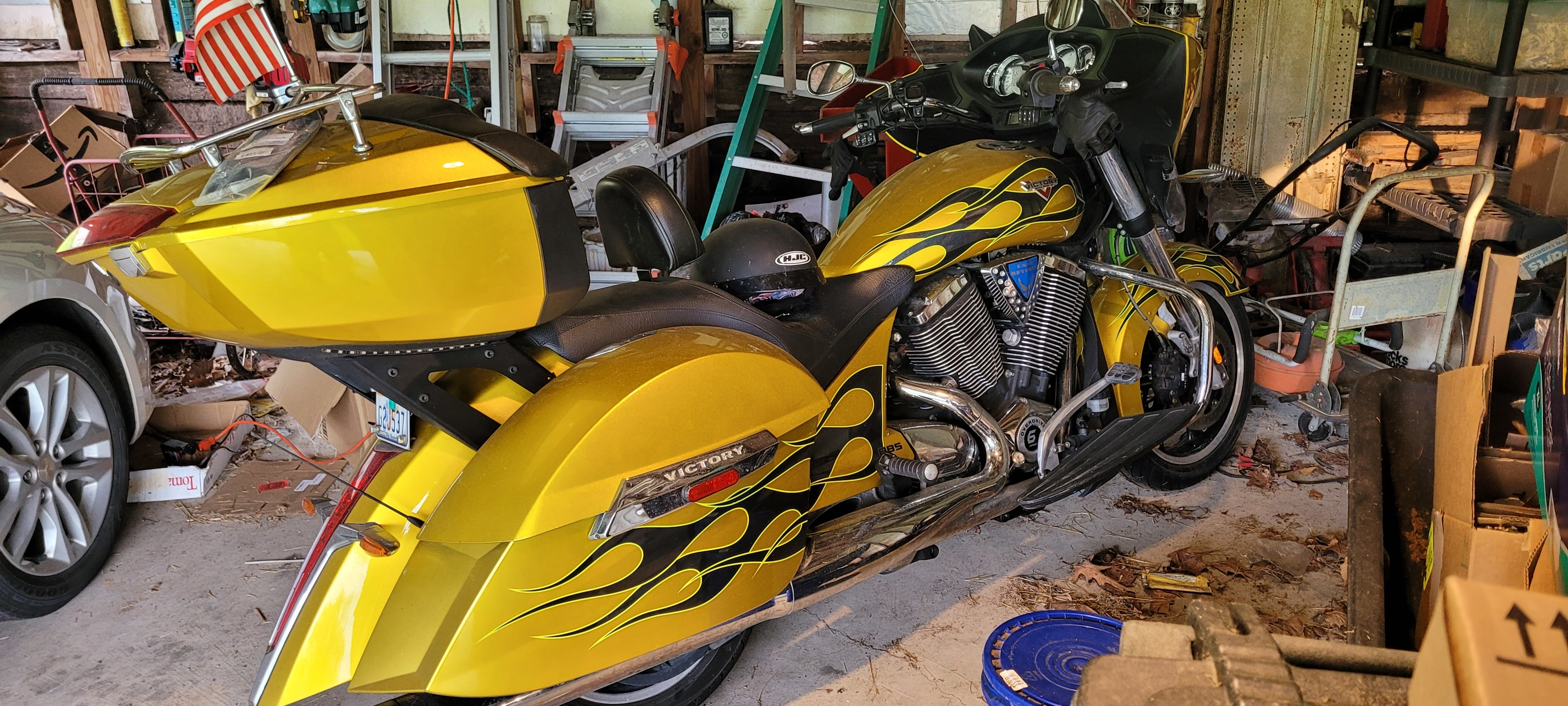 Photo Used 2014 Victory Touring Motorcycle  $9899